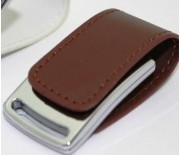 Leather  USB With Magnetic Cap